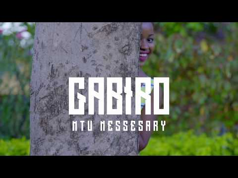CHINI YA MAJI - GABIRO MTU NECESSARY [OFFICIAL VIDEO]