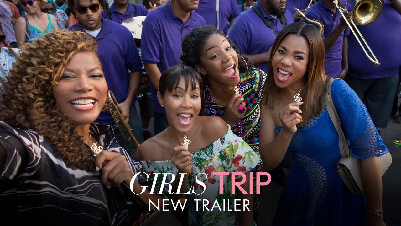 This Weekend Journey is About Them. Watch Regina Hall, Queen Latifah & Jada Pinkett Smith go on a 'Girls Trip'