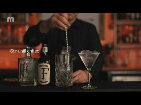 How to make a MEIKO Gin Martini cocktail with Mixology