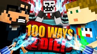 Video Minecraft: 100 WAYS TO DIE CHALLENGE - DOG SHOCK COLLAR CHALLENGE!! MP3, 3GP, MP4, WEBM, AVI, FLV Juni 2019