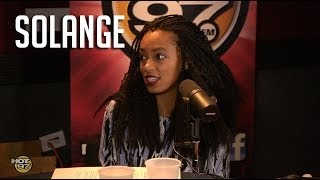 "Solange talks motherhood, pulling ""Beyonce is my sister"" cards + new album! - YouTube"