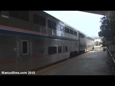 Amtrak Capital Corridor #526 At Suisun City/Fairfield