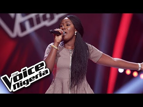 "Obichi Marshall sings ""Battlefield"" / Blind Auditions / The Voice Nigeria Season 2"