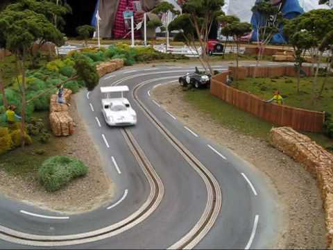 2010 Gooding & Co. - Pebble Beach Slot Car Set In Action
