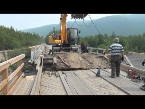 RIDE TO MAGADAN 2014 - BAM ROAD - PART 1 (видео)