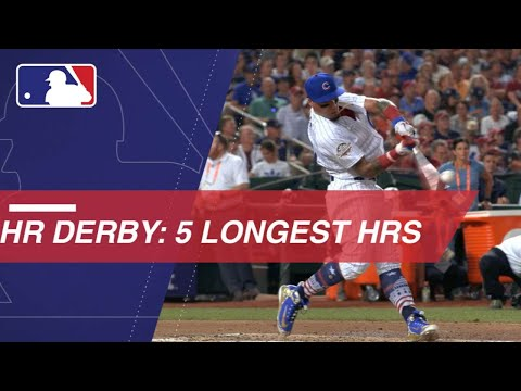 Watch the Five Longest Homers of the 2018 Home Run Derby