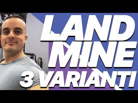 Esercizi Landmine per la massa muscolare: i 3 migliori