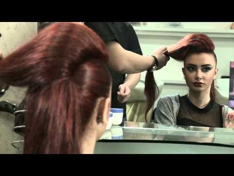 Hush Beauty Salon Dubai – Elegant Hair updo's.