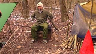 Winter camping with Alex Banks. We had a blast out in the woods. Great food and had some fun times. If you enjoy these longer outing videos please comment below. I try to make my videos quick and to the point, but I have had requests to video my longer outings, so let me know. Thanks