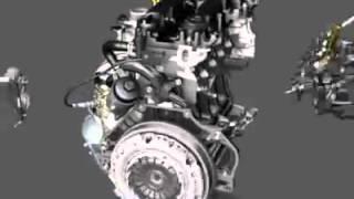 Asamblarea motorului LUJ Chevrolet Cruze