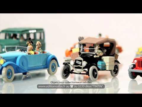 Voiture tintin 1/24 Ford T Neuf en boite miniature collection