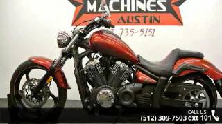 6. 2012 Yamaha Stryker  - Dream Machines Indian Motorcycle -...