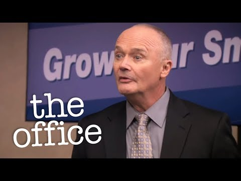 Creed's Seminar  - The Office US