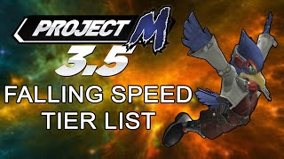 Project M 3.5: Falling Speed Tier List
