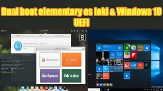 Please watch it on full HD so you can see everything clear.-----------------------------------------------------------------------------------------------------------Hi everyone,This is another dua boot video, in this video I am going to dual boot  the latest version of elementary os with the latest windows version available (windows 10 dah :p) .So in this tutorial , I am going to show how to dual boot the latest version of elementary os   and windows 10 using the UEFI method. Enjoy !-----------------------------------------------------------------------------------------------------------Game sponsor : https://play.google.com/store/apps/details?id=com.Aywa.crazySweetJewelsSmashDownload Link : https://goo.gl/kjUlFY-----------------------------------------------------------------------------------------------------------Paypal Donation(1 dollar or less can be nothing for you but it will certainly help to get new equipment and continue working, so please if you feel that I deserve it don't hesitate and donate and let us grow together ) :  just click on the paypal icon on the channel .----------------------------------------­­­­­­­­---------------------------------­-­-­-­-­-­-­-­--------------------------­-Facebook : https://www.facebook.com/pr0t3ch/Twitter:https://twitter.com/g33kyworldWebsite :http://www.t3chpro.com/-----------------------------------------------------------------------------------------------------------DUAL BOOT ELEMENTARY OS AND WINDOWSDUAL BOOT ELEMENTARY OS AND WINDOWS 10DUAL BOOTINGPCUEFI