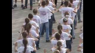 Big flashmob in Horodok with Amador Lopez. part 3