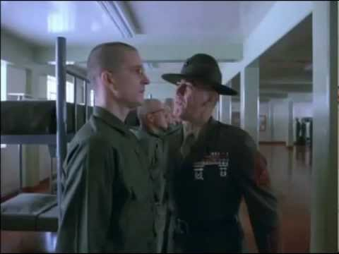 La voce di Eros Pagni in Full Metal Jacket