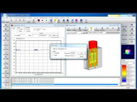 Simulation de l'extrusion soufflage avec B-SIM