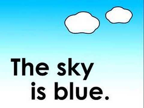 What Color is the Sky? children's song 空は何色?のうた