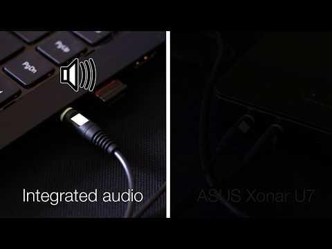 ASUS Xonar U7 amplifier test