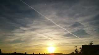 29 ‎September ‎2015 - NEXRAD Chemtrail Sunset Time-lapse