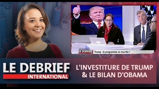 Debrief : l'investiture de Trump & le bilan d'Obama
