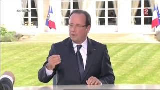 Hollande SCANDALE : Rapport Sexuel Au Palais De L'Elysee Lors De L'Entretien Du 14 Juillet 2013 !
