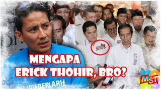 Video Mengapa Erick Thohir, Bro? Cara Jokowi Bikin Oposisi Nangis Sesenggukan MP3, 3GP, MP4, WEBM, AVI, FLV September 2018
