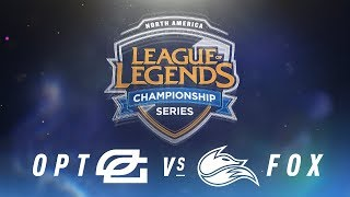 Video OPT vs. FOX - Week 7 Day 2 | NA LCS Spring Split | OpTic Gaming vs. Echo Fox (2018) MP3, 3GP, MP4, WEBM, AVI, FLV Juni 2018