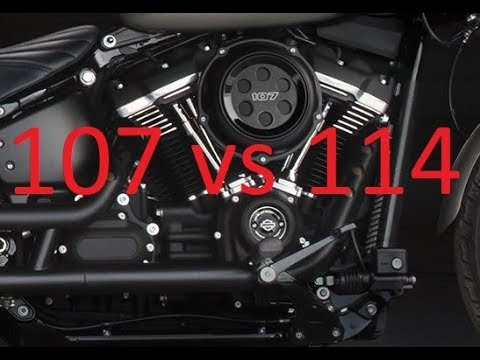 107 vs 114 What's the Difference? Harley-Davidson Milwaukee-Eight engines compared