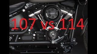 10. 107 vs 114 What's the Difference? Harley Milwaukee-Eight engines compared