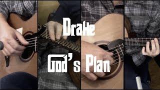 Drake - God's Plan - Fingerstyle Guitar