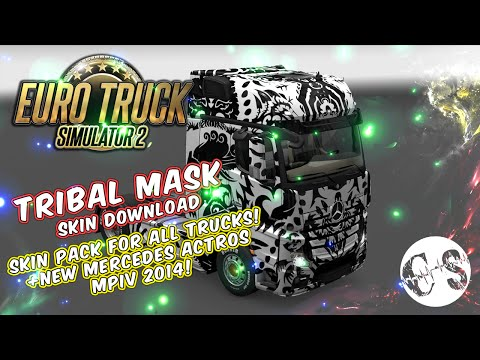 Tribal Mask Skin Pack for All Trucks