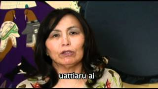 This is a video podcast for the Inuit Cultural Online Resource. This video is part of the Inuktitut Podcast Project. This video is part of a series to teach the ...