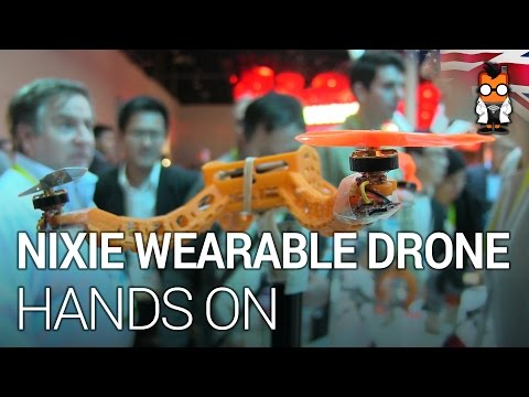 Nixie – Wearable Drone for Taking Selfies – CES 2015