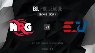 NRG vs eUnited - ESL Pro League Season 9 NA- map2 - de_mirage [SSW & MintGod]