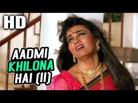 Aadmi Khilona Hai (II) | Pankaj Udhas | Aadmi Khilona Hai 1993 Songs | Reena Roy, Govinda