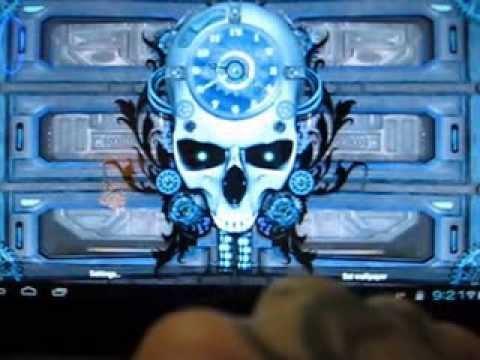 steampunk live wallpaper gears pro