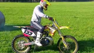 1. Suzuki RM250 Run After Jetting
