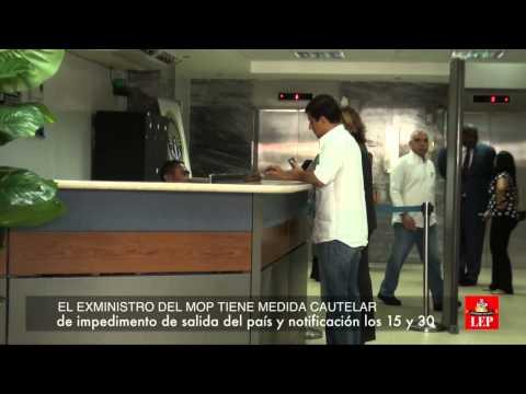 País por cárcel para exministro del Mop, Federico Suárez