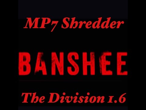 The Division 1.6 Mp7 Chopping Banshee Build (The Untouchable Build)
