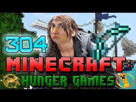 Minecraft: Hunger Games w/Mitch! Game 304 – BOW SKILLS!