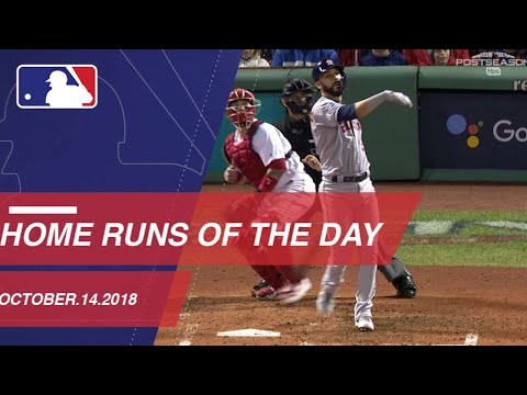 Video: Home Runs of the Day - October 14, 2018