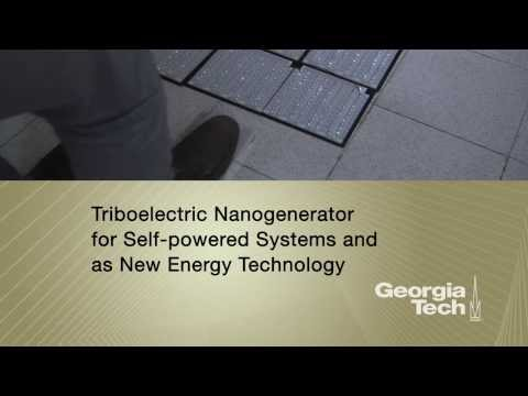 Triboelectrification as a new power source