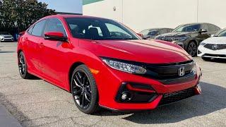 2020 Honda Civic Si HPT Sedan Walkaround + Exhaust by MilesPerHr