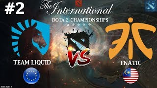 Liquid vs Fnatic, game 2