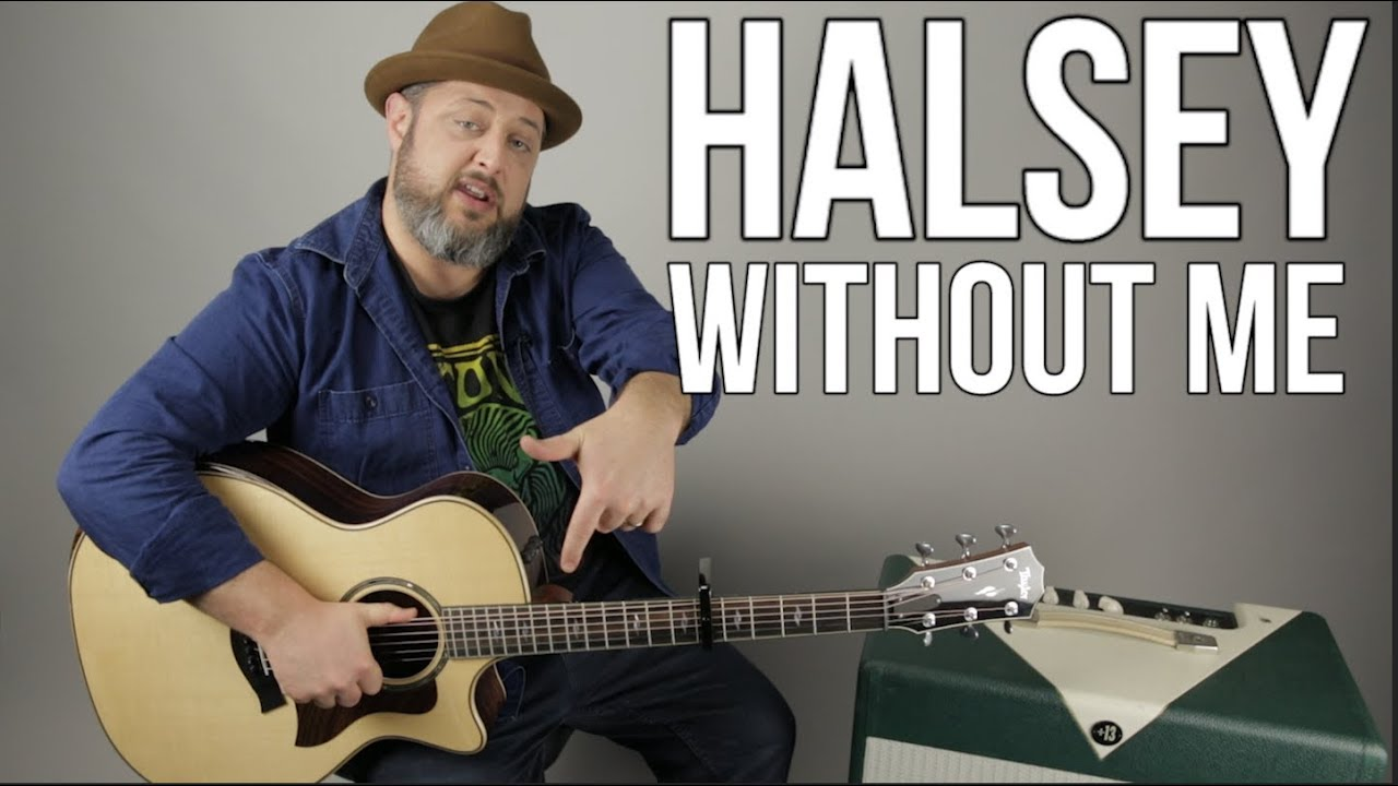 Halsey -Without Me – Guitar Lesson (Easy Acoustic)