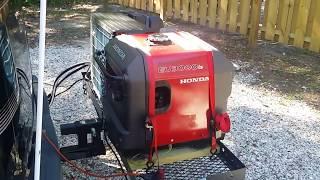 7. Honda EU3000IS Generator sound level at campground