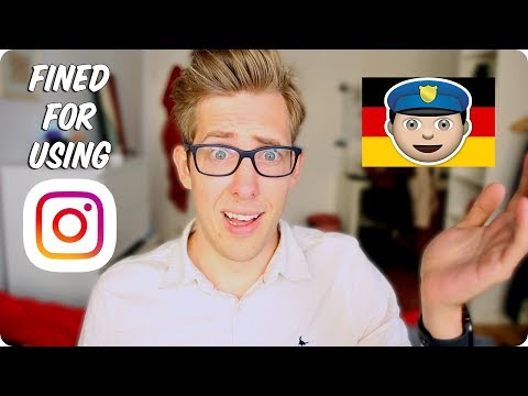 This German Law Fines Instagram Users For WHAT?!