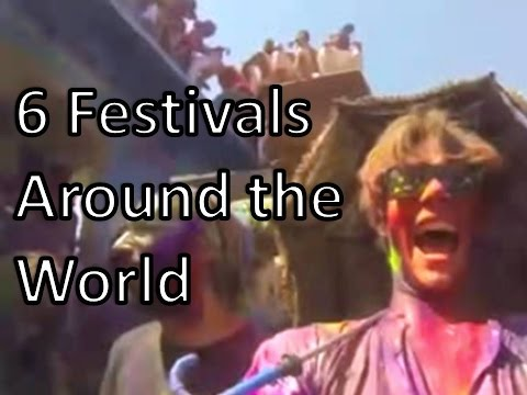Travel Tips: 6 Amazing Festivals from Around the World and other travel tips